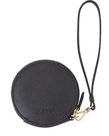 Leather Coin Purse Keyring
