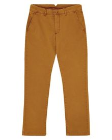 Twill Garment-Dyed Trousers