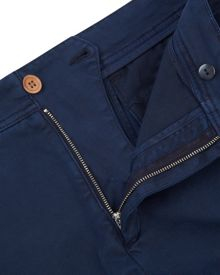 Jaeger Twill Garment-Dyed Trousers