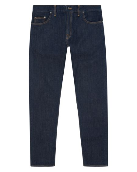 Jaeger Washed Selvedge Slim Leg Jeans