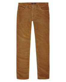 Corduroy five pocket trousers