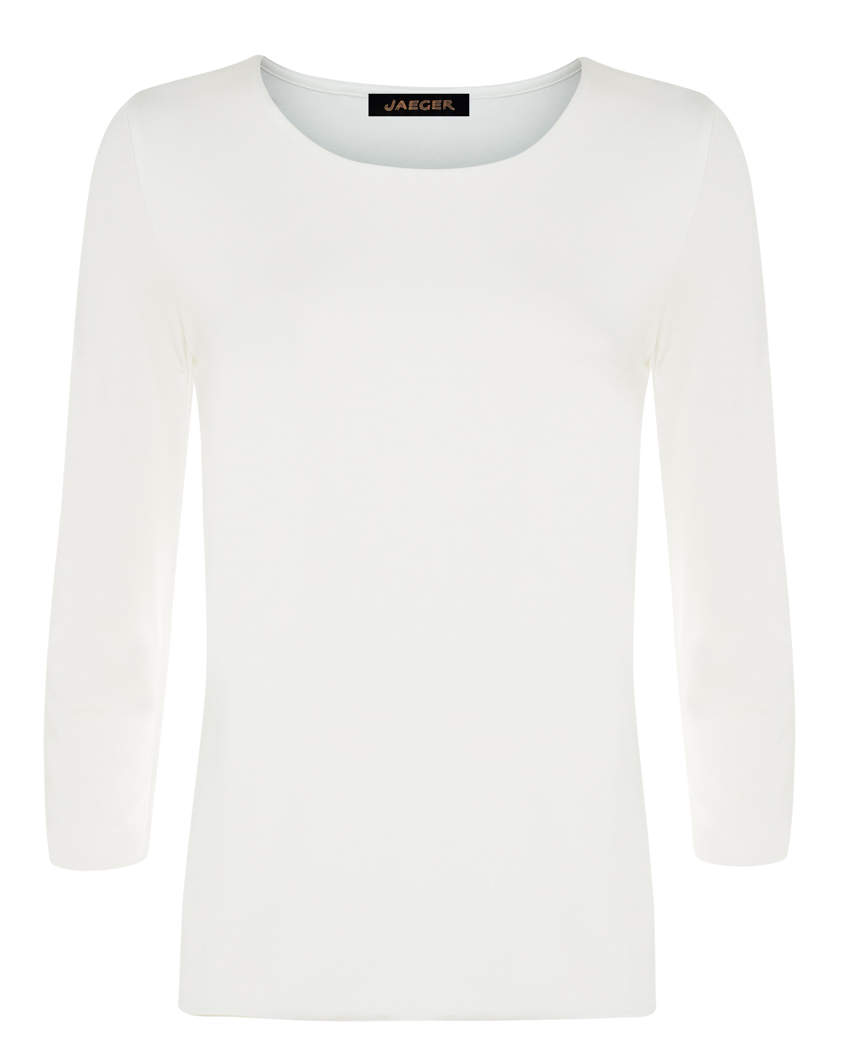 Jaeger Essential Jersey Top, White