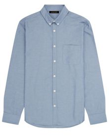 Jaeger Washed Oxford Shirt