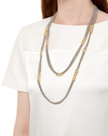 Curb Link and Chain Necklace
