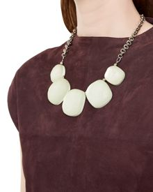 Hammered Pebble Necklace