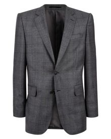 Jaeger Wool windowpane classic jacket