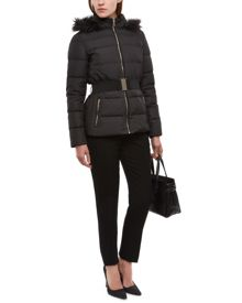 Jaeger Waisted Short Puffer Jacket