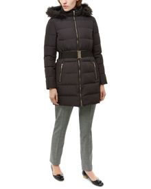 Jaeger Waisted Long Puffer Jacket