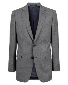 Wool Puppytooth Modern Jacket