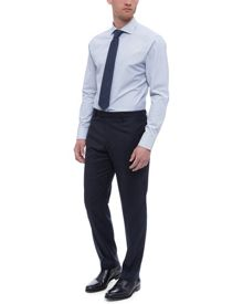 Jaeger Faded Check Modern Trousers