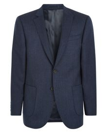 Wool Herringbone Modern Jacket