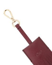Leather Fringed Keyring
