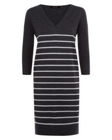 Wool Striped Dress
