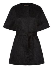 Mohair Wool Belted Duster Coat