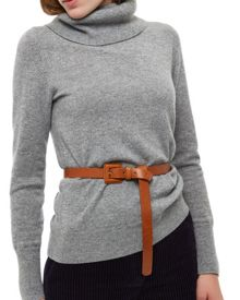 Jaeger Leather Knot Front Belt