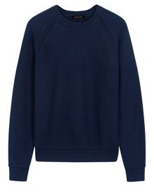 Jaeger Cotton crew neck sweater