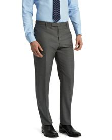 Jaeger Wool sharkskin modern trousers