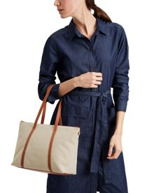 Jaeger Lexington Canvas Small Tote