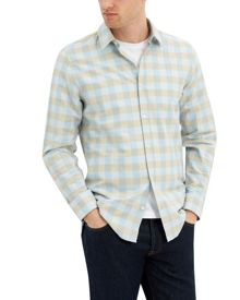 Jaeger Cotton large check shirt