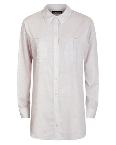 Jaeger Cotton Oversized Shirt