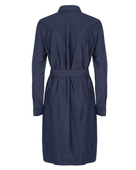 Jaeger Denim Shirt Dress
