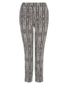 Jaeger Aztec Print Cropped Trousers