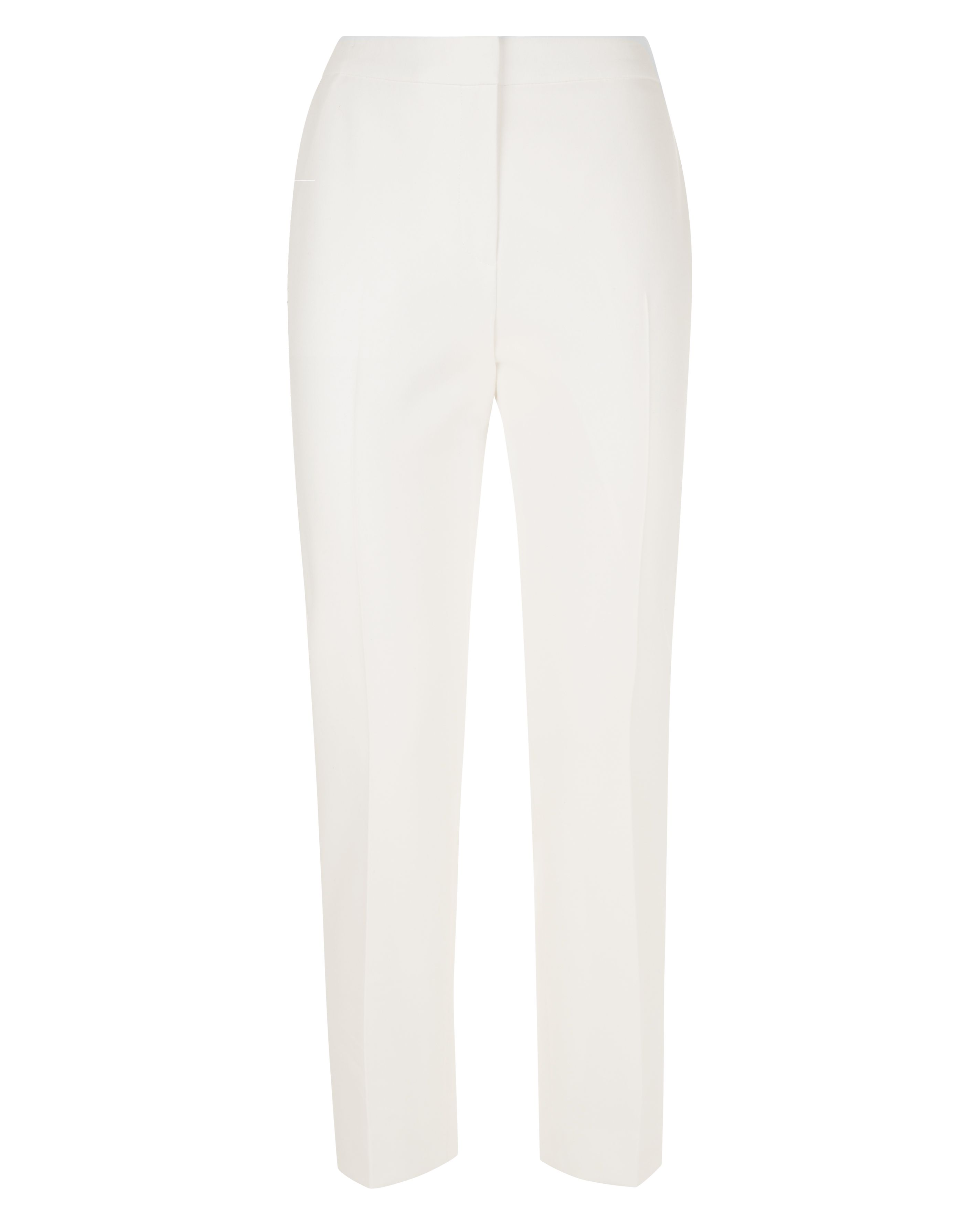 Jaeger Cropped Stretch Trousers, White