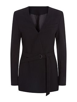 Belted Tailored Jacket