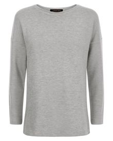 Jaeger Jersey Split Back Sweatshirt
