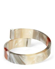 Jaeger Pearlised Metal End Bangle