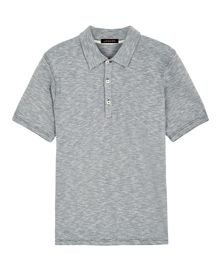 Jaeger Cotton striped polo shirt