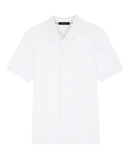 Jaeger Pima cotton polo shirt