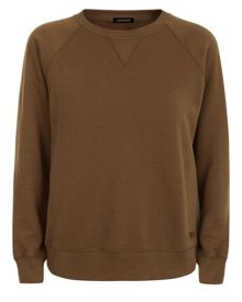 Jaeger Cotton Jersey Sweatshirt