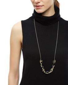 Jaeger Tortoiseshell Chain Necklace