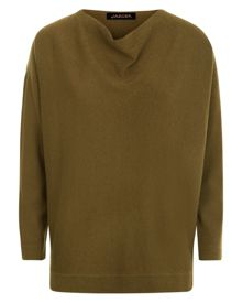 Wool Cashmere Slouchy Sweater