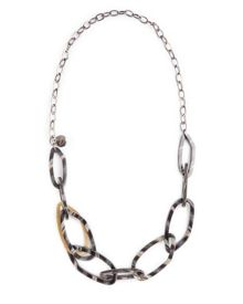 Resin Chain Link Necklace