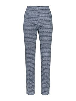Diamond Ikat Print Trousers