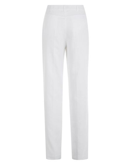 Jaeger Linen Parallel Leg Trousers