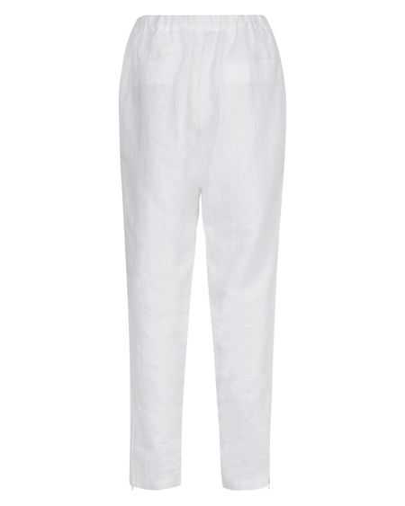 Jaeger Linen Drawstring Trousers