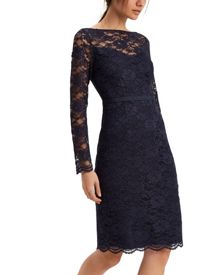Jaeger All Over Lace Dress