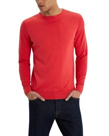 Jaeger Pima piqué sleeve sweater