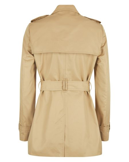 Jaeger Short Classic Trench Coat