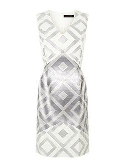 Diamond Jacquard Dress