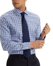 Jaeger Bright gingham modern shirt