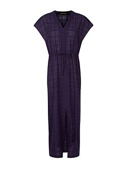 Cotton Kaftan Maxi Dress
