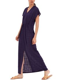 Jaeger Cotton Kaftan Maxi Dress