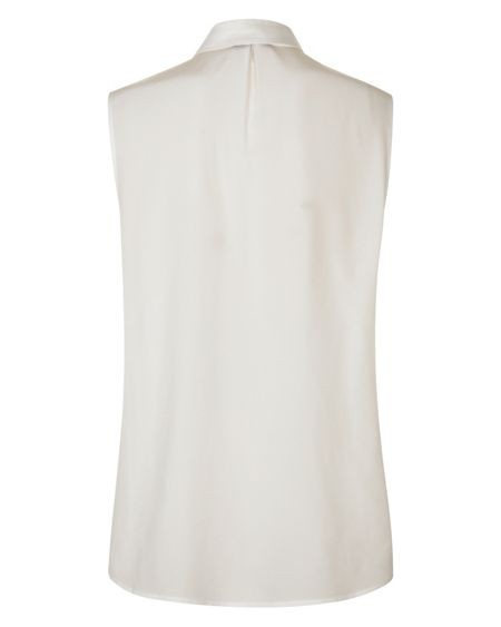 Jaeger Silk Sleeveless Blouse
