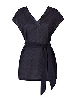 Cotton Belted Top