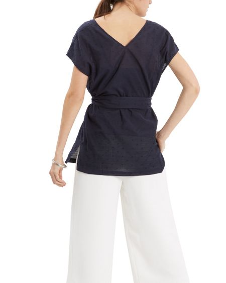 Jaeger Cotton Belted Top