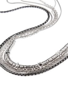 Jaeger Multi Row Long Necklace